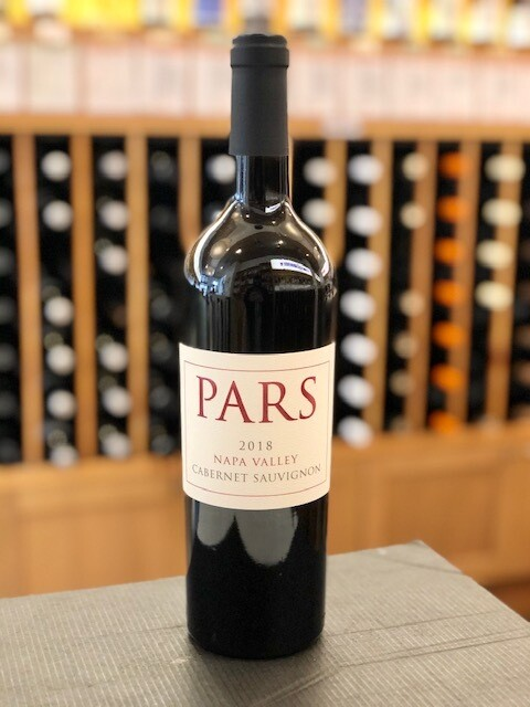 Pars Napa Valley Cabernet SUSTAINABLE