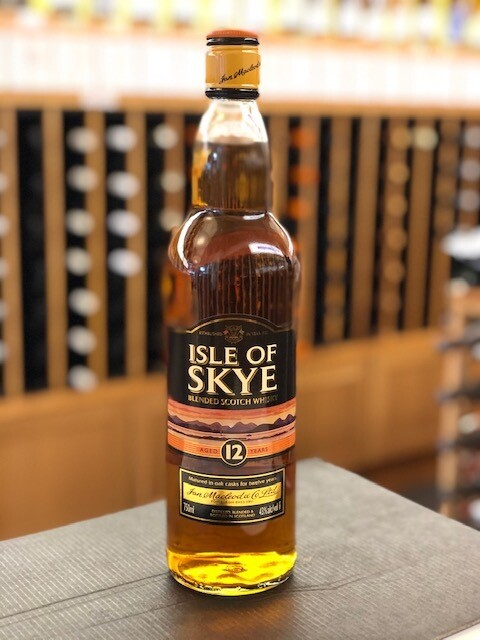 Isle of Skye Blended Scotch Whiskey Aged 12 Years