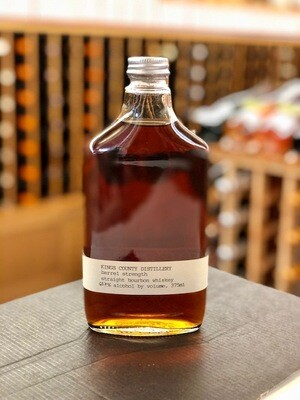 Kings County Barrel Strength Straight Bourbon Whiskey 375ml