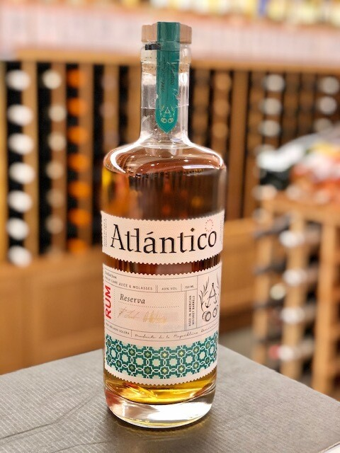 Atlantico Rum, Reserva Aged In American Whiskey Barrels