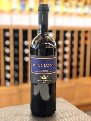 Poggio Bonelli Poggiassai Super Tuscan SUSTAINABLE