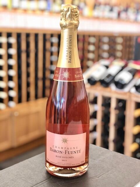 """Baron Fuenté Champagne """"Dolorès Rosé"""" Brut SUSTAINABLE/VEGAN"""