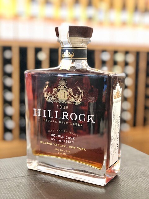 Hillrock Double Cask Sauternes Barrel Rye Whiskey 90 Proof