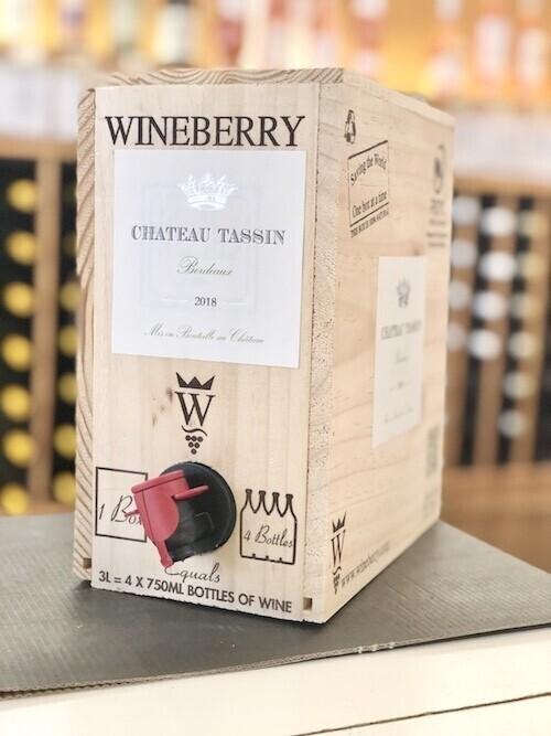 Château Tassin Bordeaux BLANC 3L Bag-in-Box
