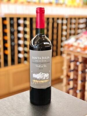 Santa Julia Reserva Cabernet Sauvignon SUSTAINABLE