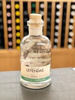 Leyendas, Maguey Espadin Joven Mezcal Artesanal