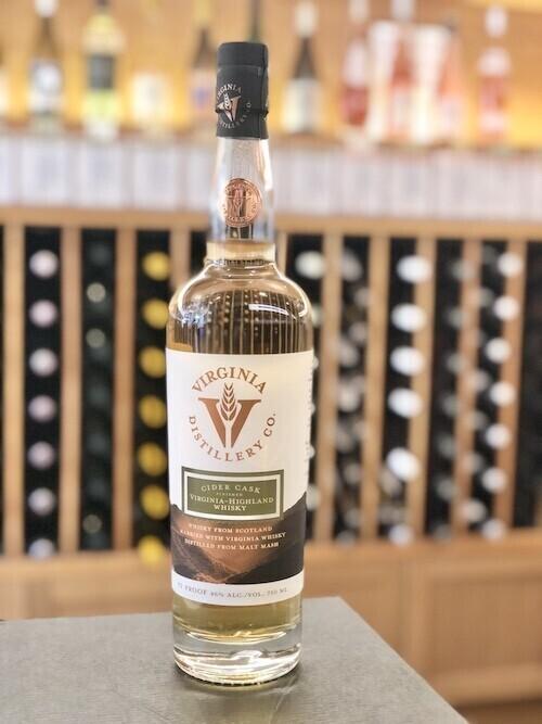Cider Cask Finished Virginia Distillery Highland Whisky