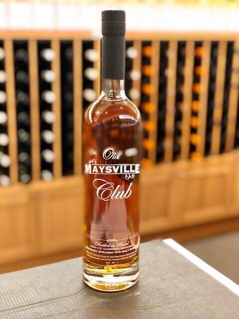 Old Maysville Rye Malt Whiskey 100 Proof