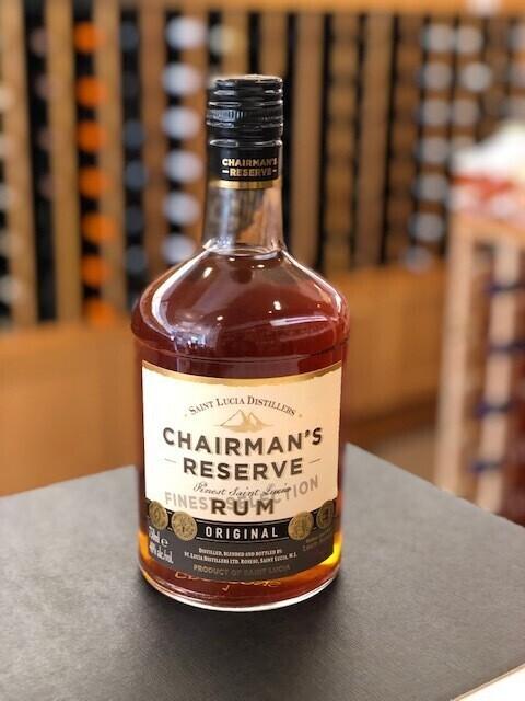 Chairman's Reserve Original Rum (St. Lucia).