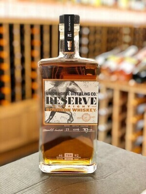 Union Horse, Reserve Straight Bourbon Whiskey
