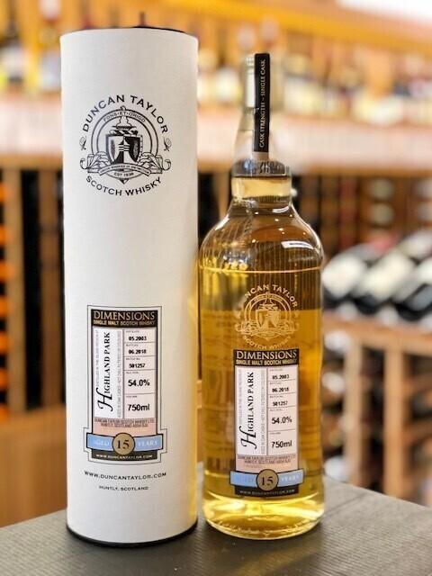 Duncan Taylor Highland Park 15 year Single Malt Scotch Whisky