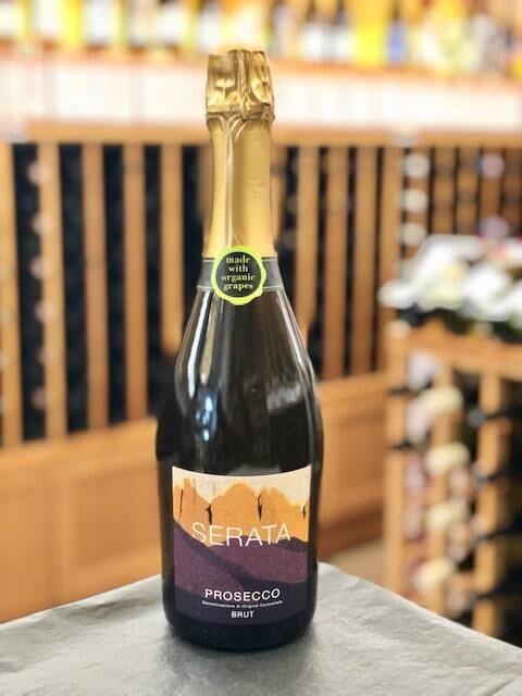 """Serata Prosecco, """"MFW Wine Co."""" Brut ORGANIC"""