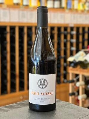 Paul Autard, Cotes du Rhone Rouge SUSTAINABLE/VEGAN/NATURAL/FWM