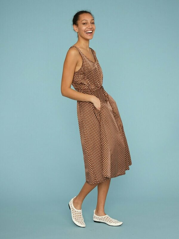 Tank Drawstring Dress, Raquel Allegra