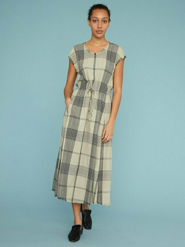 Mint Drawstring Dress, Raquel Allegra