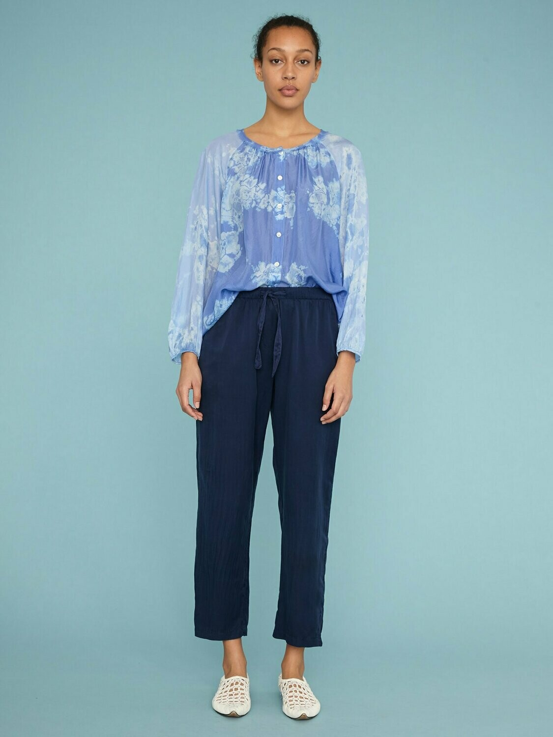 Navy Trouser, Raquel Allegra
