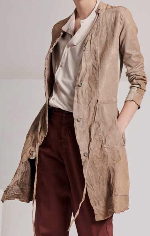 Lamb Leather Coat, Transit