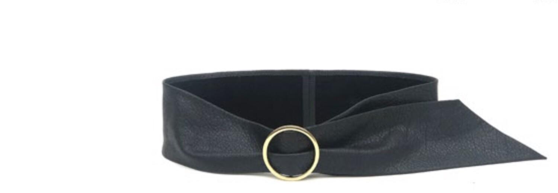 Trisha Wrap Black Belt, B-Low Belts