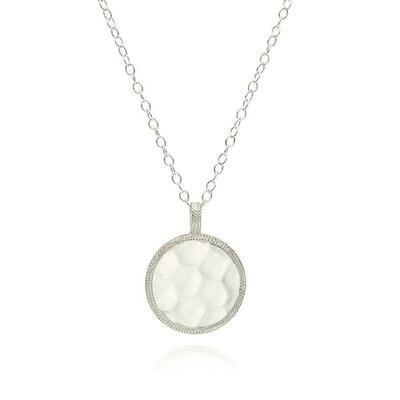 NK10194 Hammered Pendant Necklace, Anna Beck