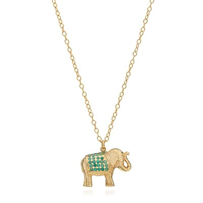 10139 Turquoise Elephant, Anna Beck