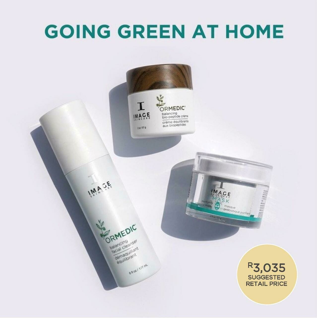 Image Skincare Go Green At Home Kit