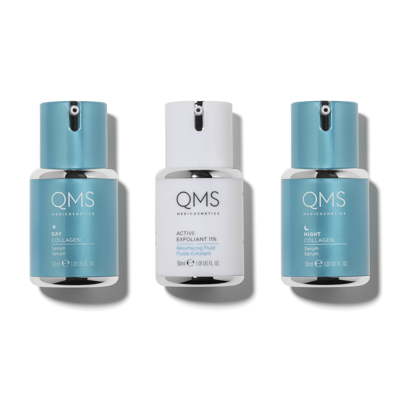 QMS COLLAGEN SYSTEM 3-Step Routine Set