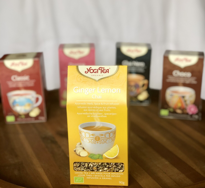 Yogi Tea Ginger Lemon Chai