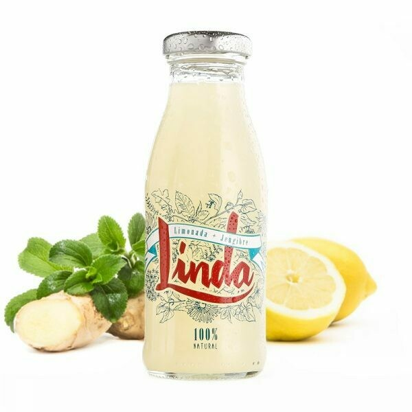 Zumo LINDA limón con jengibre