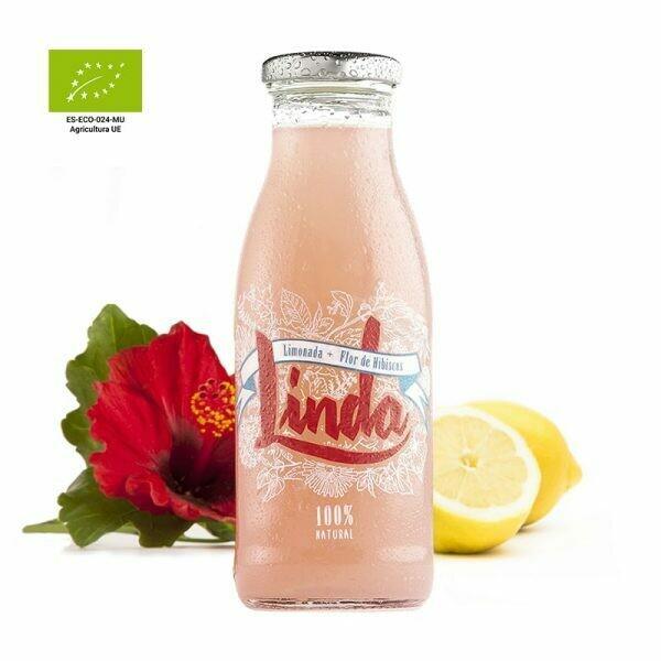 Zumo LINDA limonada i flor de Hibiscus