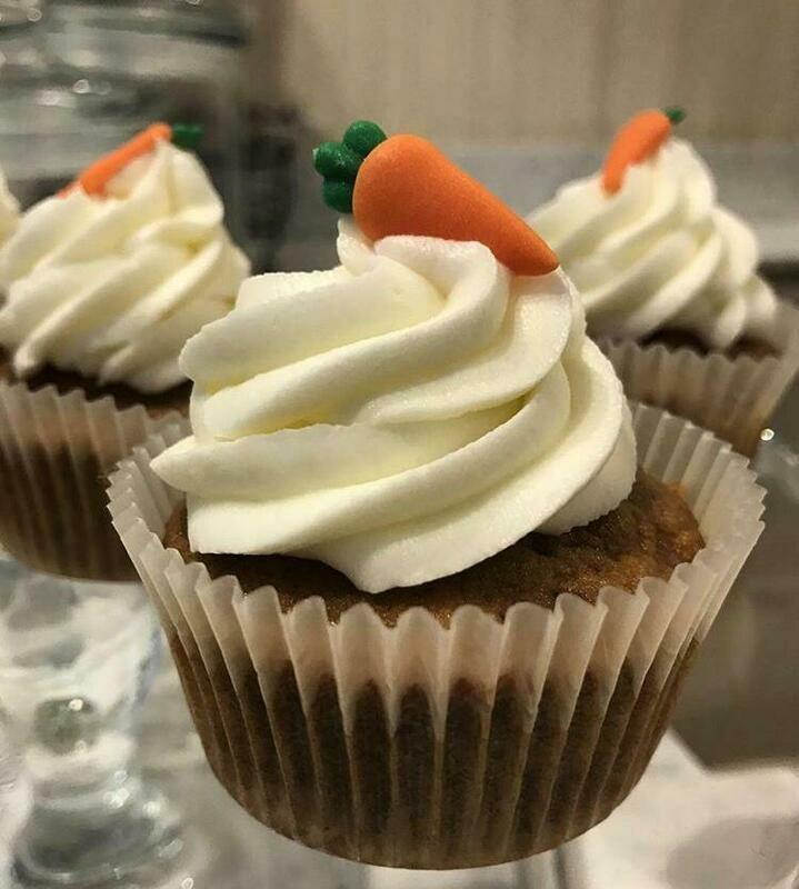 Carrot's cupcake