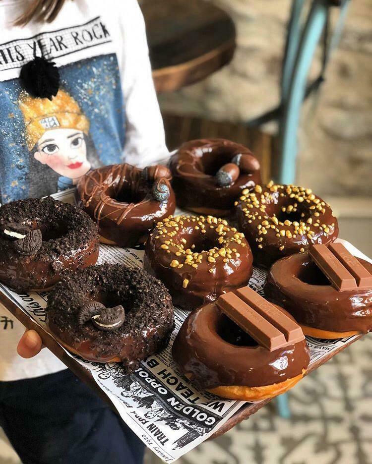 Pack de 4 Donuts decorados