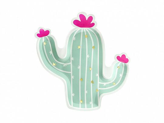 Platos cactus boho Llama 6 uds.