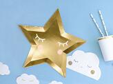 Platos little star 6 uds.