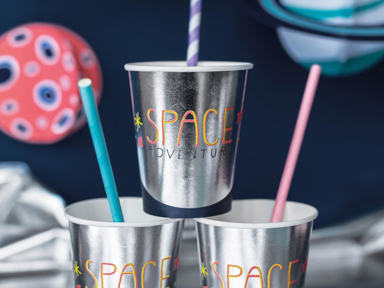 Vasos Space party 6 uds.