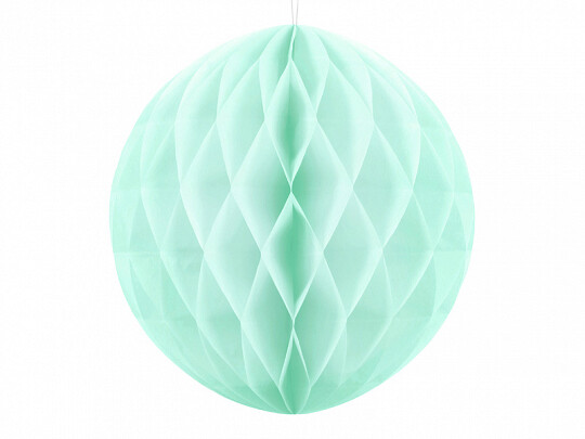 Honeycomb ball, mint, 20cm