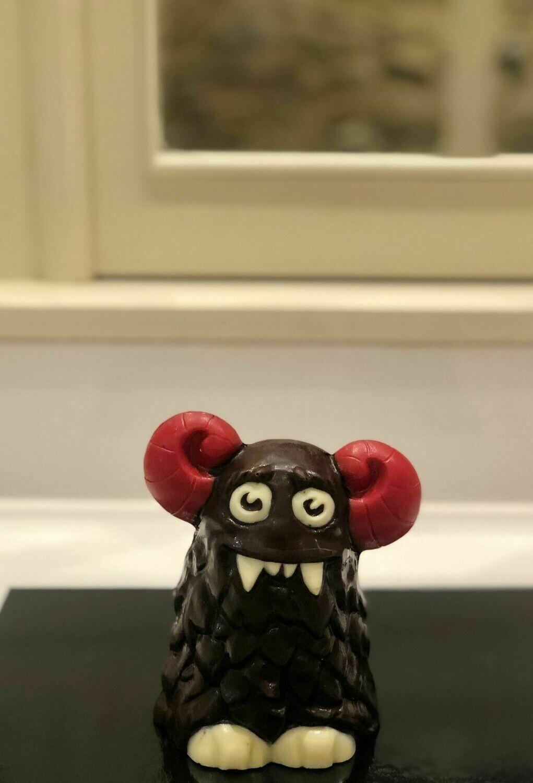 Mona de chocolata negre Grúfal
