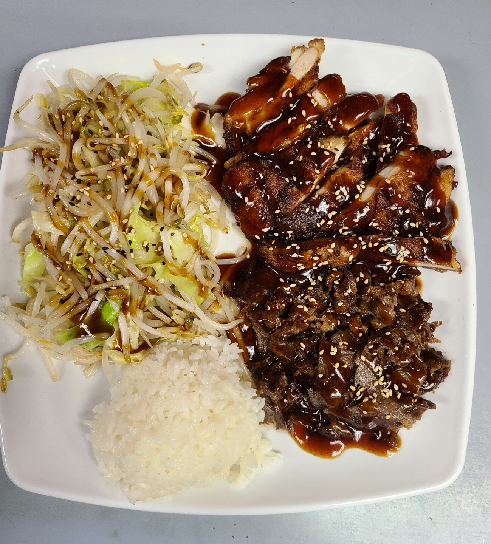 Chicken & Beef Teriyaki