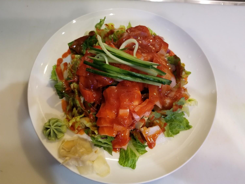 Spicy Chirashi Don