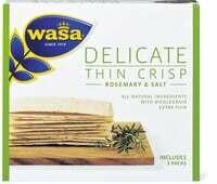 Wasa Delicate Thin Crisp Rosem. & Salt 190g