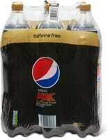 Pepsi Max Caffeine free 6 x 1.5l