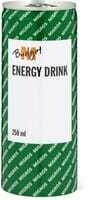 M-Budget Energy Drink 250ml