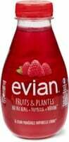 Evian fruits&plantes Framboise-verveine 370ml