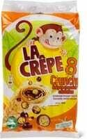 Crêpes chocolat céréales crispy 256g