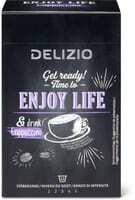 Delizio enjoy life Cappuccino 12 cap. 72g