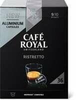 Café Royal ristretto 36 capsules 190g