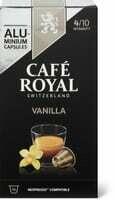 Café Royal vanilla 10 capsules 50g