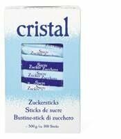 Cristal 100 Sticks de sucre 500g