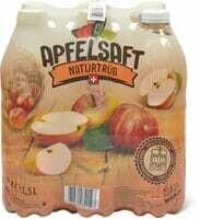 Pur jus de pommes frais du pressoir 6 x 1.5l