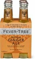 Fever Tree Ginger ale 4 x 200ml