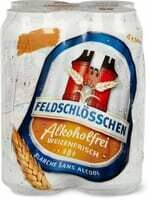 Feldschlösschen Blanche sans alcool 4 x 500ml